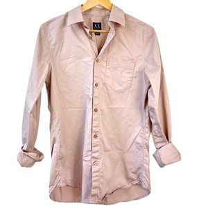 Armani Exchange Men's Button Down Shirt